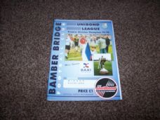 Bamber Bridge v Bishop Auckland, 1996/97